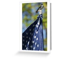 World's Smallest Patriot Greeting Card