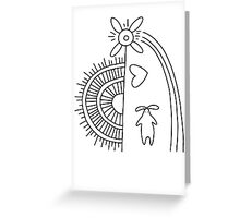 Note for Howl Greeting Card