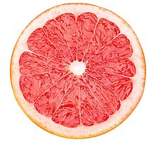 Slice of grapefruit by 6hands