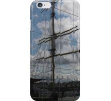 Tall-ship reflection iPhone Case/Skin