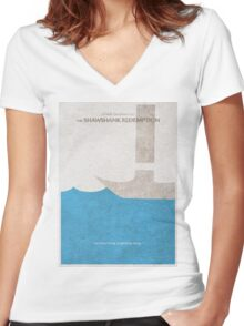 The Shawshank Redemption Women's Fitted V-Neck T-Shirt