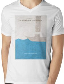 The Shawshank Redemption Mens V-Neck T-Shirt