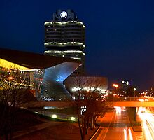BMW World and HQ by PhilMi
