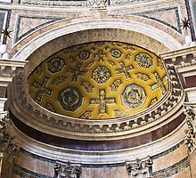 Pantheon ceiling - Rome, Italy by kat86