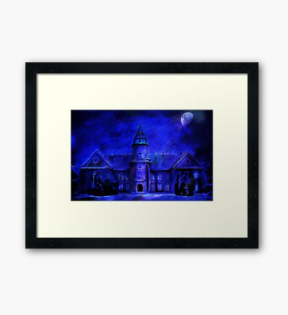 Winter Castle Framed Print