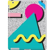 1980s Abstract Pattern iPad Case/Skin
