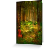 Forest Symphony..... Greeting Card