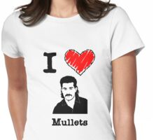 I Love Mullets Womens Fitted T-Shirt