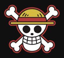 Straw Hat Pirates Logo Kids Clothes