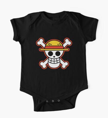 Straw Hat Pirates Logo One Piece - Short Sleeve