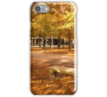 Impressions of Paris - Tuileries Garden, Come Sit a Spell iPhone Case/Skin