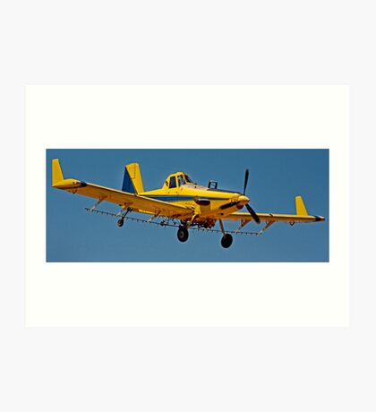 Crop Duster Art Print