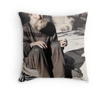 Watching the Anzac Day Parade Throw Pillow