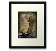 Around The World..... Framed Print