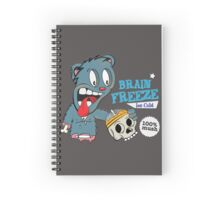 Brain Freeze Spiral Notebook