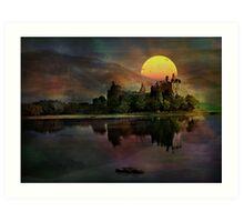 Kilchurn Castle .... Art Print