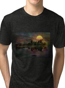 Kilchurn Castle .... Tri-blend T-Shirt