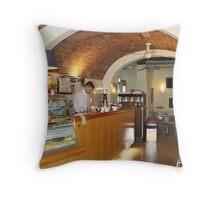 Siena Cafe Throw Pillow