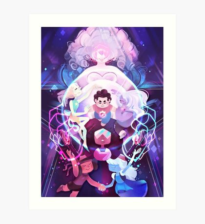 The Crystal Gems - Steven Universe Art Print