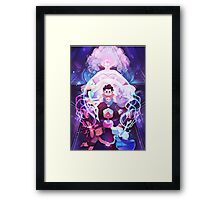 The Crystal Gems - Steven Universe Framed Print