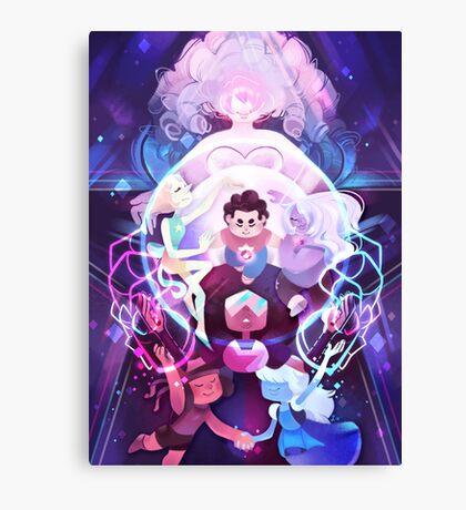 The Crystal Gems - Steven Universe Canvas Print