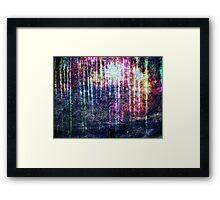 Dandelion & Textures. Framed Print