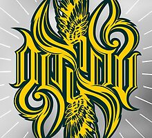 Angel 3K ambigram by loneleon