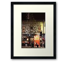 The Other Red Door Framed Print