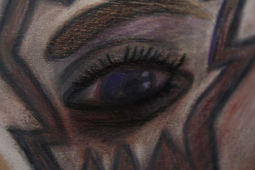 Conte Eye, Nonrepresentational by Christina Rodriguez