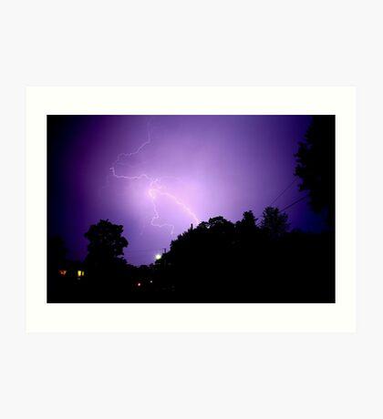 Summer Storm 1 Art Print