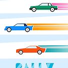 Rally cars by mikath