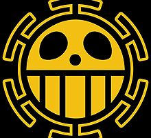 Trafalgar Law Heart Pirates Logo by ColdCola