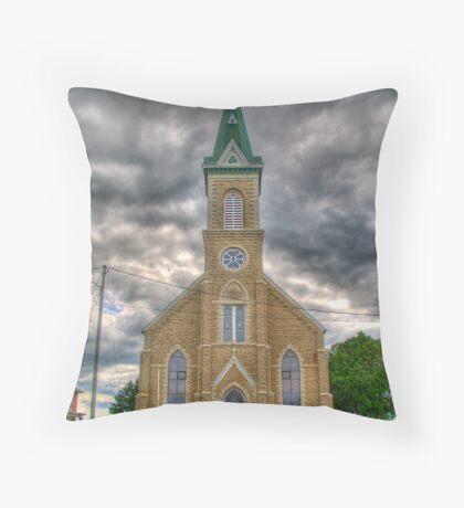Bristol Catholic Church Throw Pillow