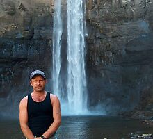 Me In Front Of falls by AlGrover