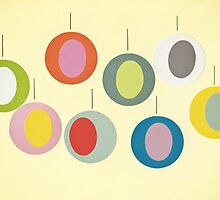 Christmas Baubles by Cassia