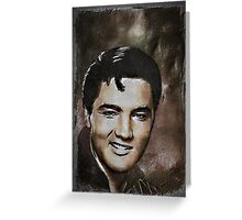ELVIS.... Greeting Card