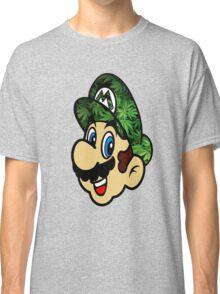 Weed Mario Classic T-Shirt