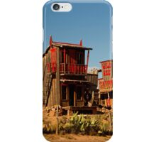 Wild Ass Saloon (And Other Respectable Establishments) ©  iPhone Case/Skin