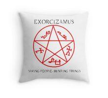 Supernatural Exorcism Throw Pillow