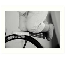 Radio flyer Art Print