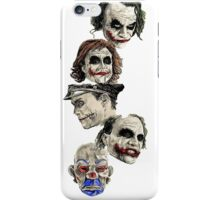 Many Faces of The Joker iPhone Case/Skin