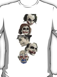 Many Faces of The Joker T-Shirt