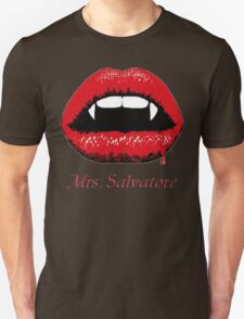 Mrs Salvatore Unisex T-Shirt