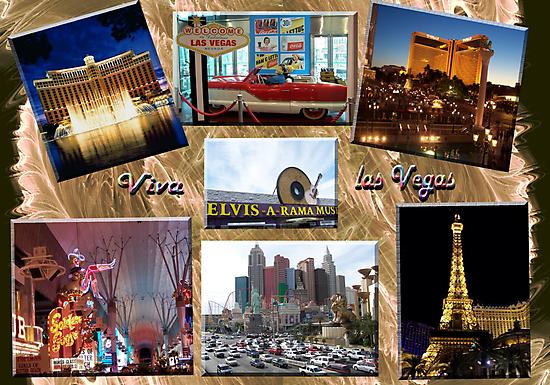 Viva Las Vegas Collage by judygal