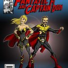 The Adventures of Fantastic Fi and Captain Dodi Cover by Michael Lee