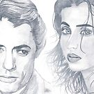 Urmila & Gregory Peck by Bobby Dar