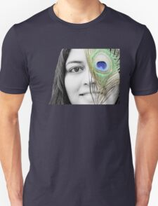 Peacock Eyes Unisex T-Shirt