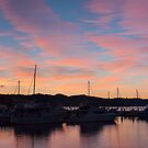 Tasmania - Sunrise panorama #2, Hobart, 17 July 2010 by Odille Esmonde-Morgan