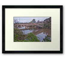 Kings Bridge Launceston Framed Print