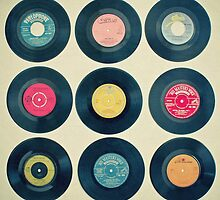 Vinyl Collection by Cassia